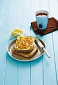 Marmalade on Toast; Jar of Marmalade