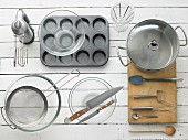 Utensils for making muffins
