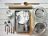 Kitchen utensils for stuffed profiteroles