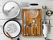 Kitchen utensils for soup