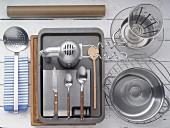 Kitchen utensils for making bagels