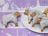 Spelt sheep biscuits