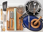 Kitchen utensils for preparing game