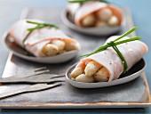 Turkey & asparagus rolls
