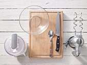 Kitchen utensils for preparing sweets