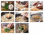 How to prepare mushroom & cream cheese cream