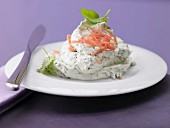 Herb & ham cream with cream cheese