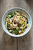 Thai Chinese cabbage salad
