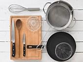 Utensils for making pasta dishes