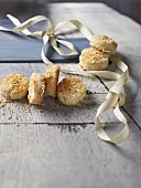 Pineapple & coconut macaroons for Christmas