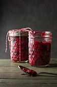 Frozen Rasberry Chia Seed Jam