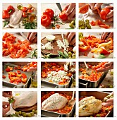 How to make Provence chicken with tomatoes and olives