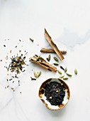 Black tea and chai spices