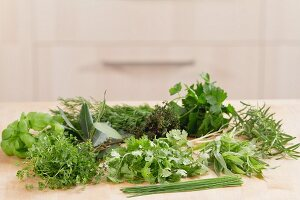 Fresh Herb Still Life