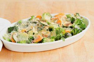 Vegetable gratin