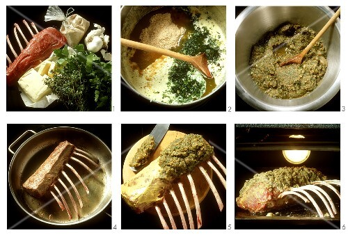 Saddle of Lamb with Thyme Crust