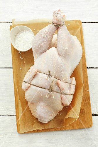 Ready-to-roast chicken