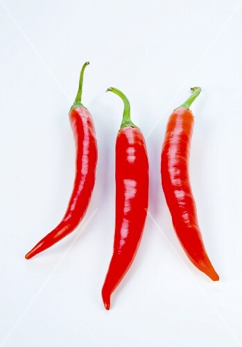 Three red chillies
