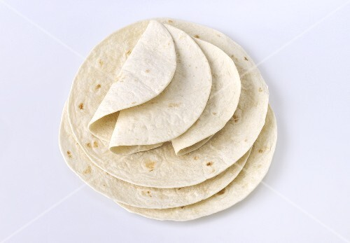 Tortillas, stacked