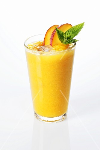 Peach smoothie
