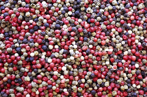 Mixed peppercorns (full-frame)