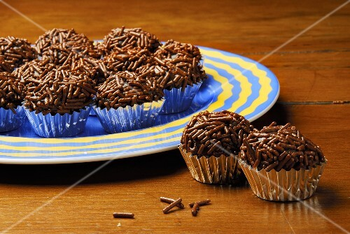 Brigadeiro (Sweets made with chocolate & condensed milk, Brazil)
