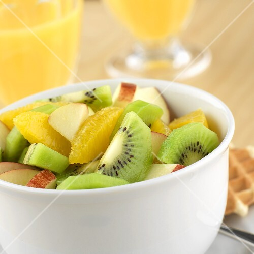 Small bowl of fruit salad