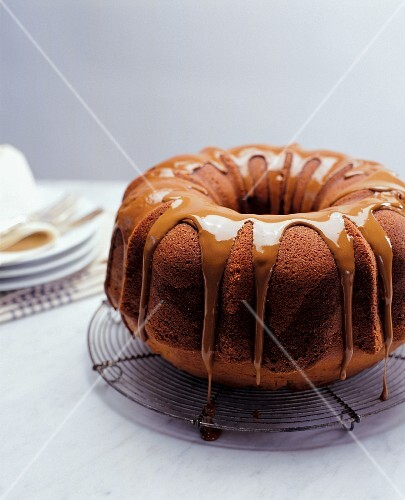 Whole Espresso Glazed Coffee Cake