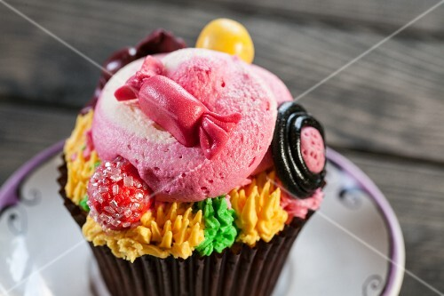 Cupcake for child's birthday
