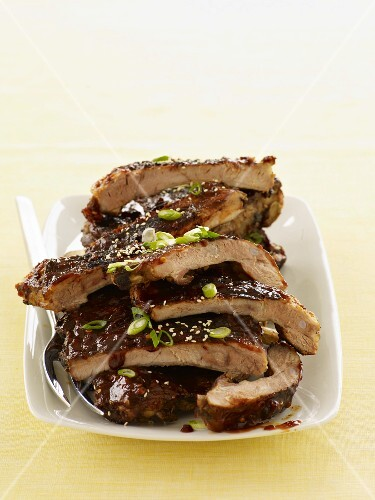 Asian Style Barbecue Ribs