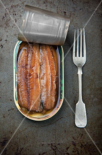 Kippers in a tin