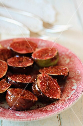 Caramelised figs