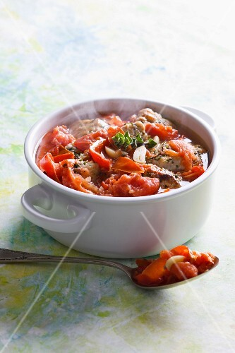 Fish and tomato stew