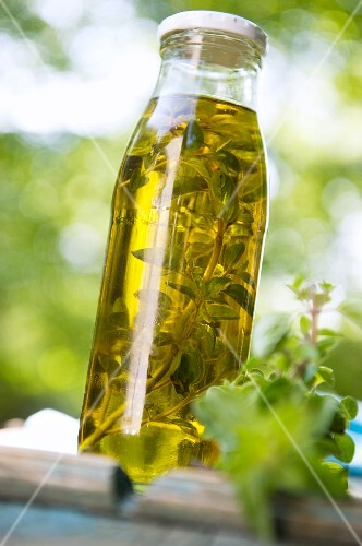 Home-made oregano oil