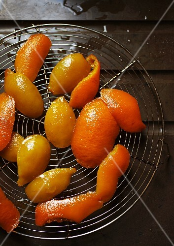 Candied orange and lemon peel