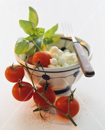 Ingredients for Insalata Caprese