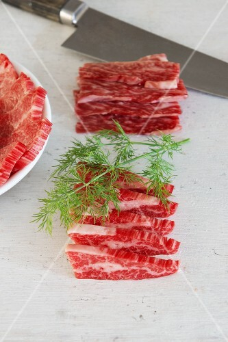 Wagyu with dill