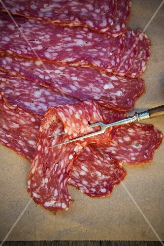 Spianata Romana (salami from the greater Rome region)