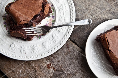 Salted chocolate brownies