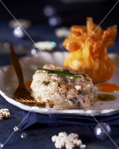 Langoustine tartar for Christmas