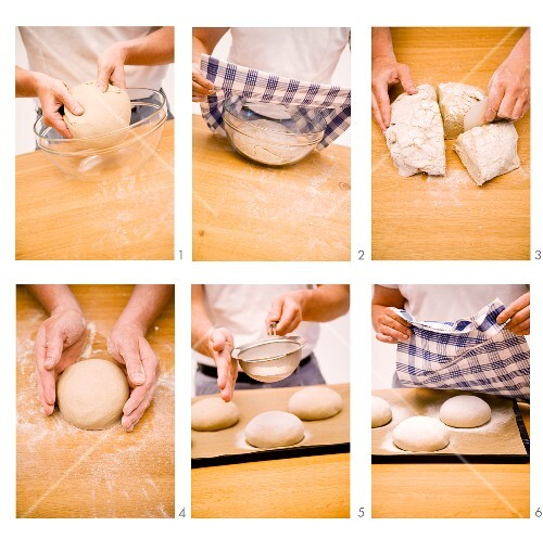 Rye bread step-by-step