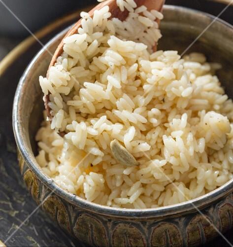 Pilau rice (close-up)