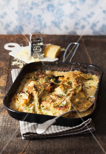 Platter of Fennel Gratin