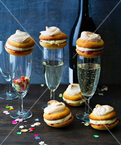 New Year's whoopie pies