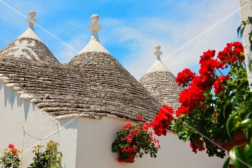 Trulli houses in Alberobello (Italy)