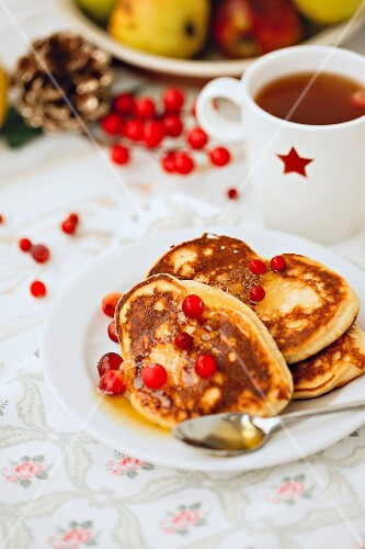 Gluten-free pancakes made with coconut flour