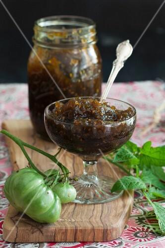 Варенье из помидоров зеленых рецепт фото