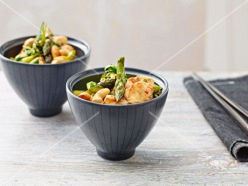 Stir-fried asparagus (Asia)