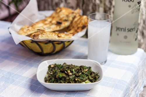 Bugdayli Karalahana (Turkish black kale with wheat)