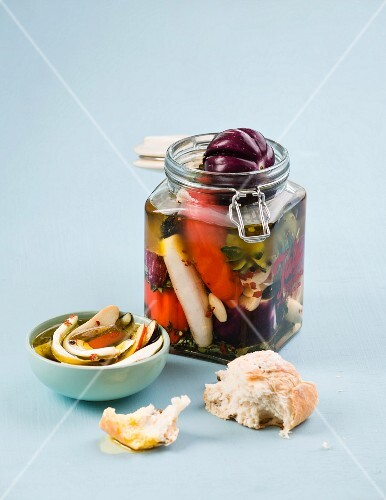 pickled aubergine
